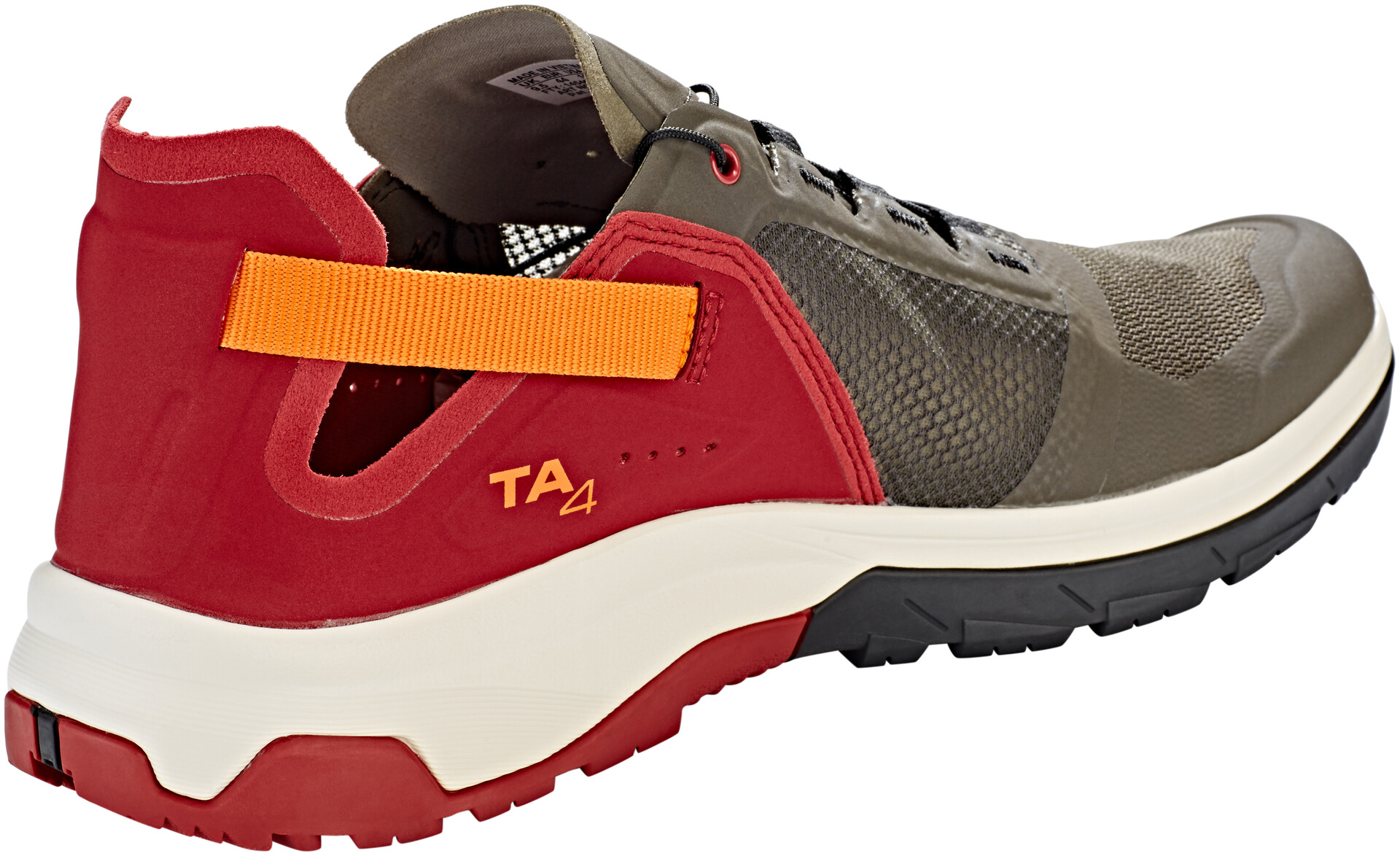 Salomon Techamphibian 4 Chaussures Homme, belugarusset orangered dahlia